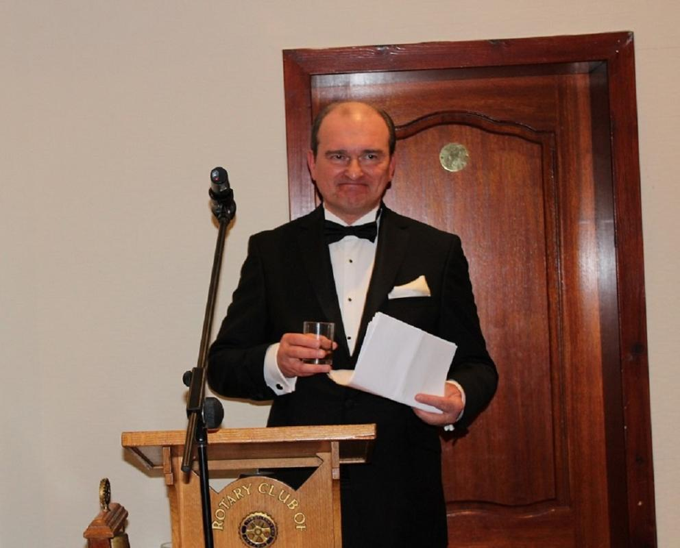 Annual Burns Supper - Andrey Pritsepov proposes the Immortal Memory