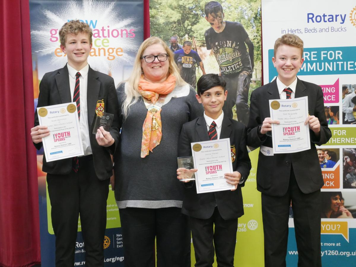 Two brilliant evenings at our District Youth Speaks Finals - Dame Alice Owen School -