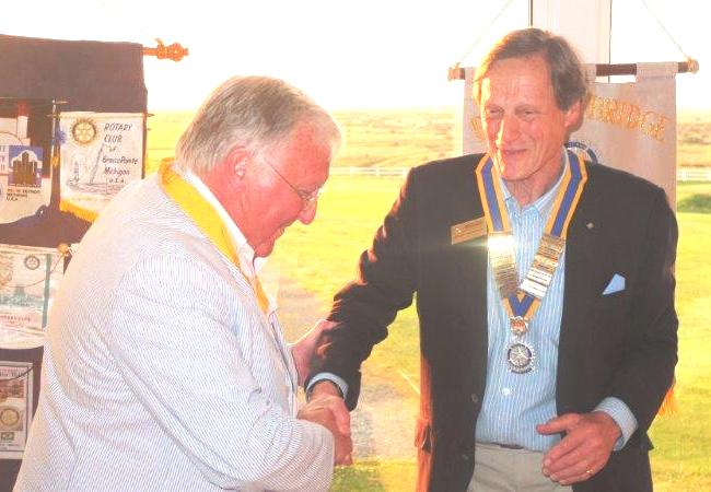 2015-16 Rotary Year - To Vice President John Bishop