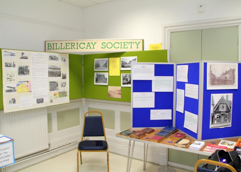 Reading Rooms 150 Year Anniversary - Billericay Society Exhibit
