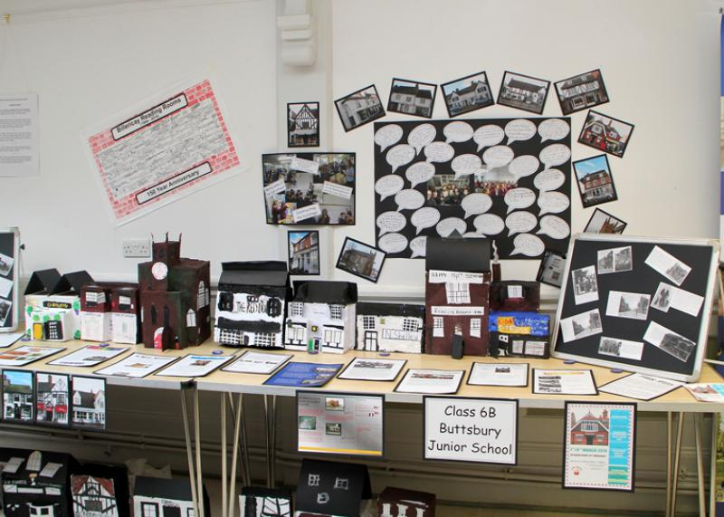Reading Rooms 150 Year Anniversary - Buttsbury Junior School Exhibit