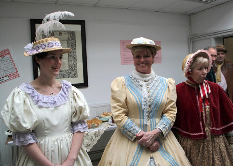Reading Rooms 150 Year Anniversary - The Ladies of the Committee