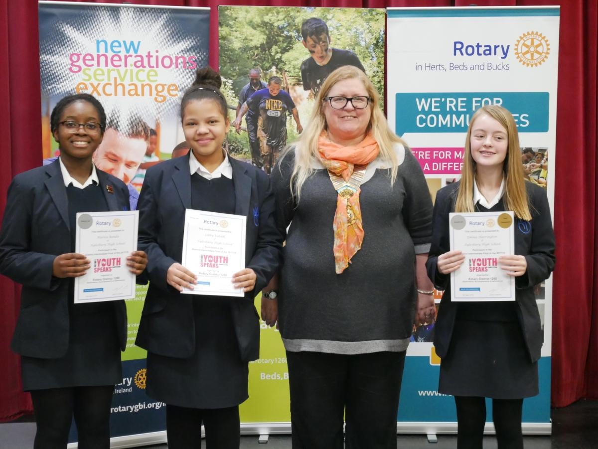 Two brilliant evenings at our District Youth Speaks Finals - Aylesbury High School -