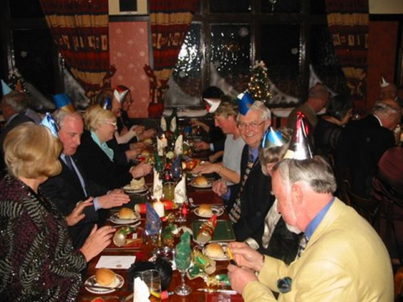 Pictures from the Past - Xmas dinner 2003