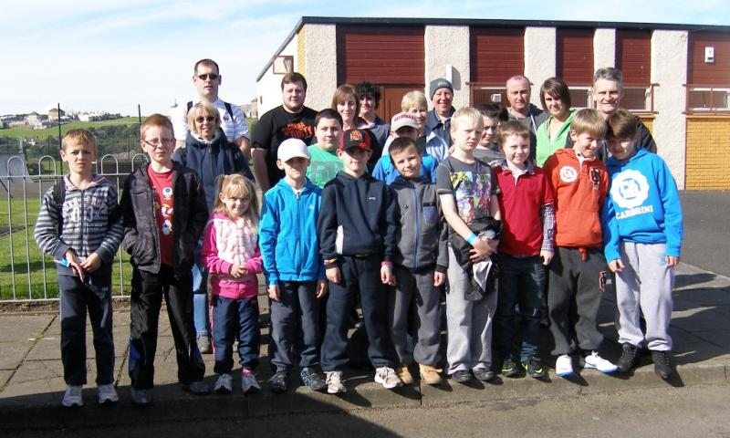 10th Fife Coastal Path Walk   September 2012 - Inverkeithing BB and Girl Guides
