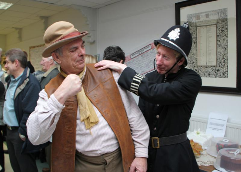 Reading Rooms 150 Year Anniversary - The Arrest