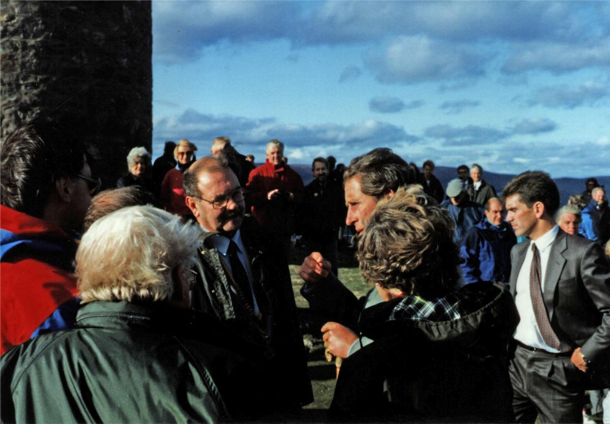 1986 Scolty Tower refurbishment - 06-007 Scolty Crowd 1986