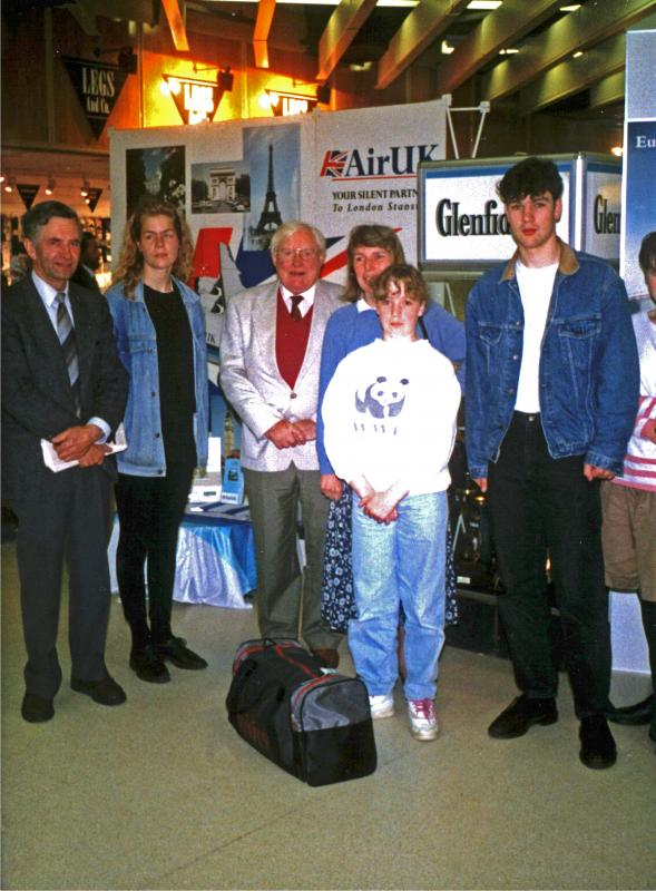 International Exchange Visits - 06-024 Dyce YE Students Departure 1993