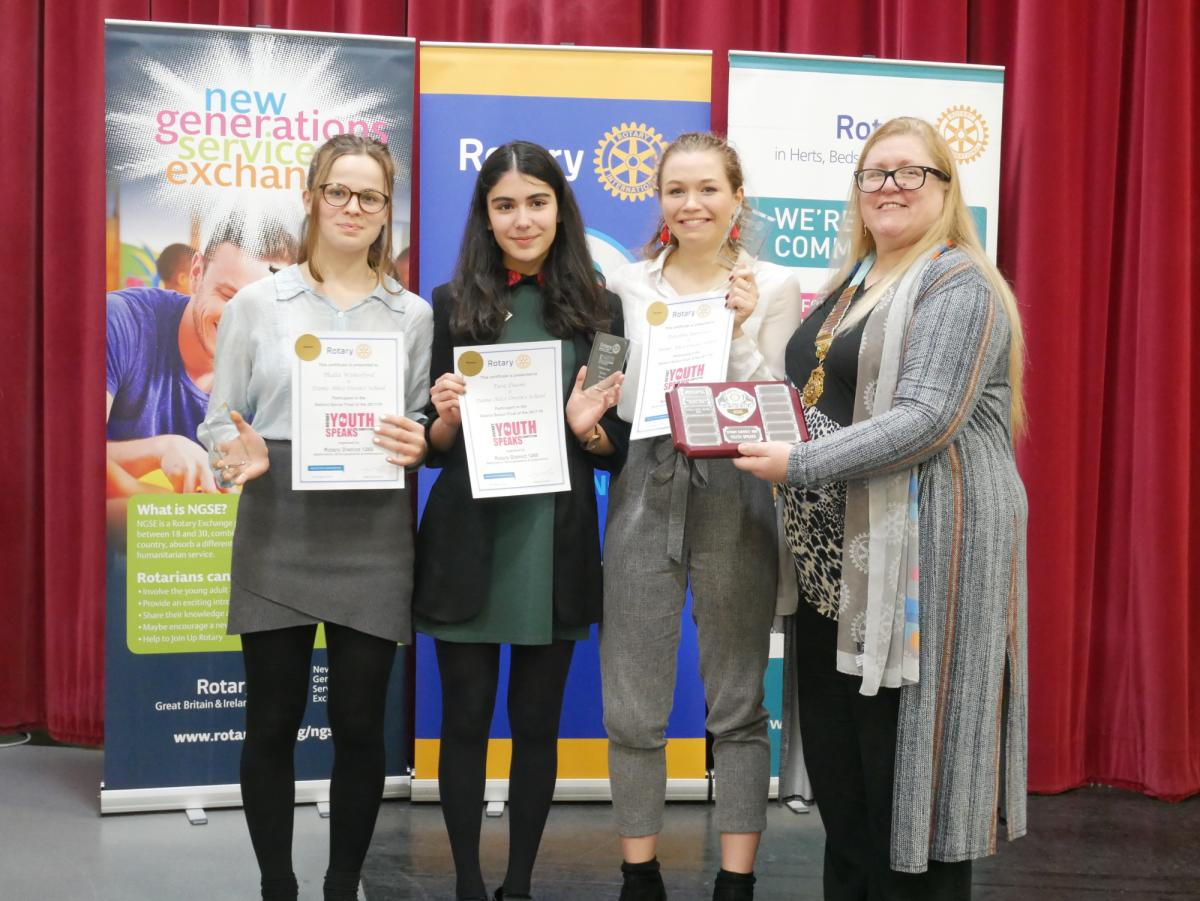 Two brilliant evenings at our District Youth Speaks Finals - Dame Alice Owen -