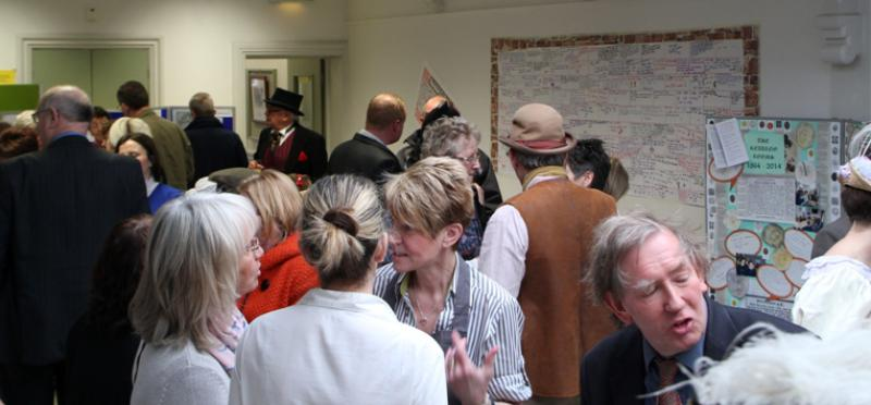 Reading Rooms 150 Year Anniversary - Everybody enjoying themselves