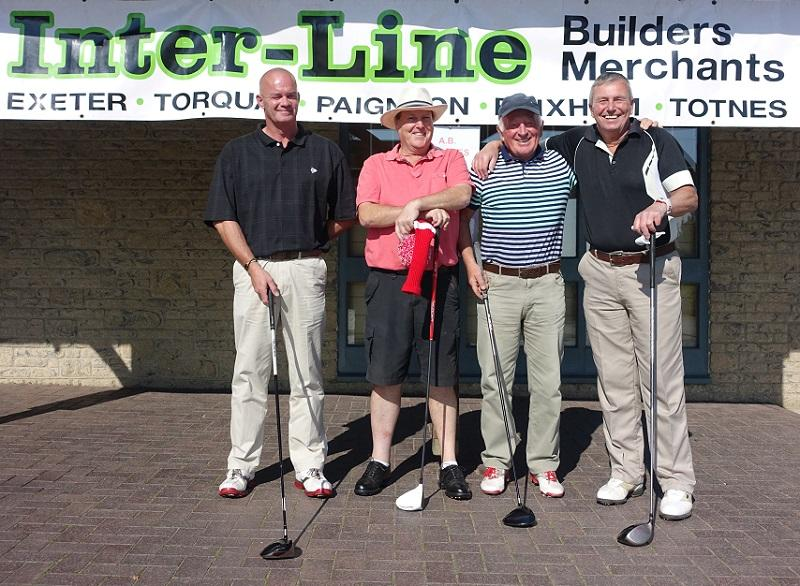 Charity Golf Day at Dainton Golf Club - 2015 -