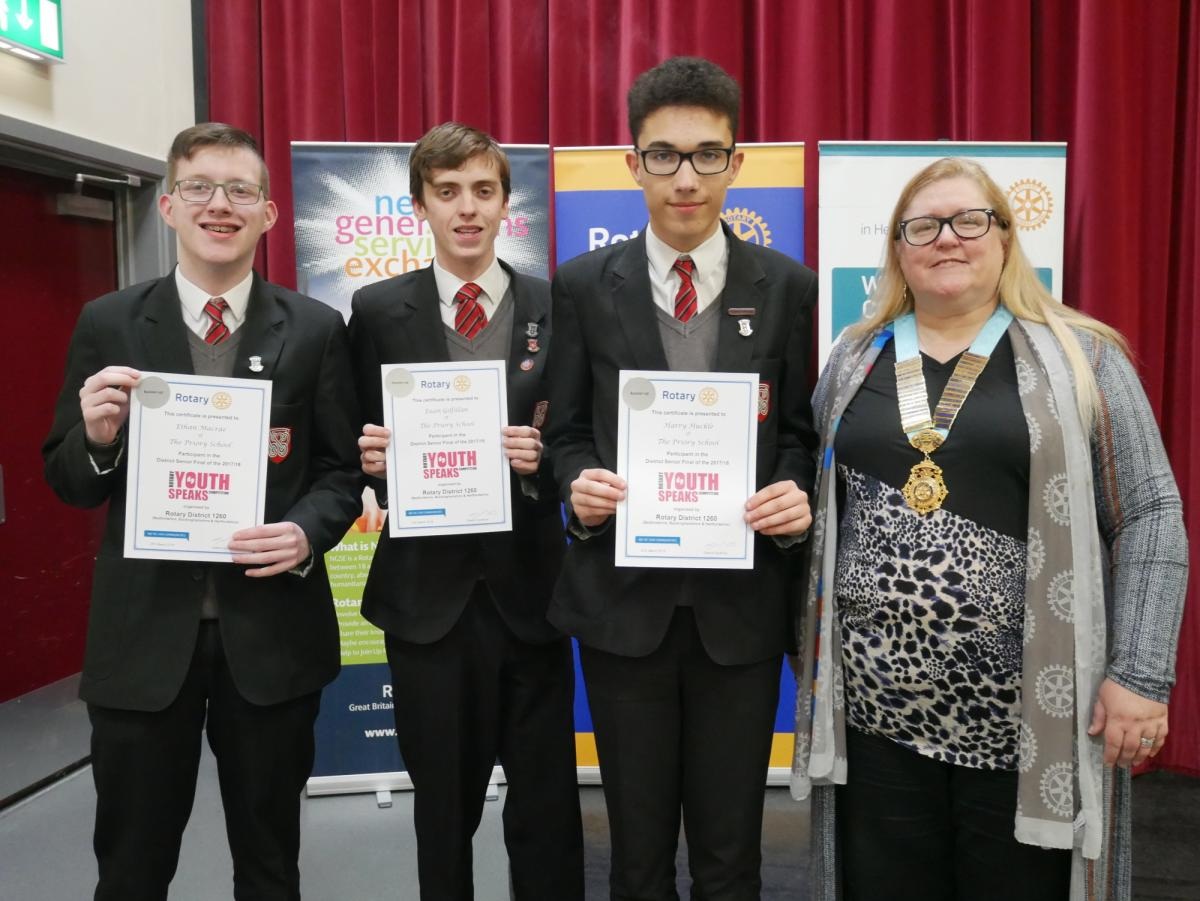 Two brilliant evenings at our District Youth Speaks Finals - The Priory School -