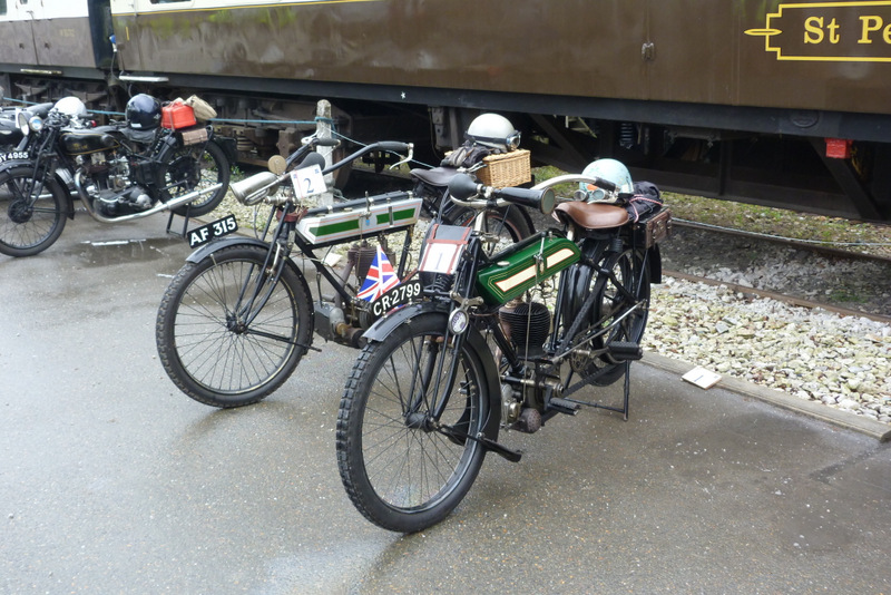 Vintage Motorcycle Club - Lands End Run 2014 - The oldest bikes