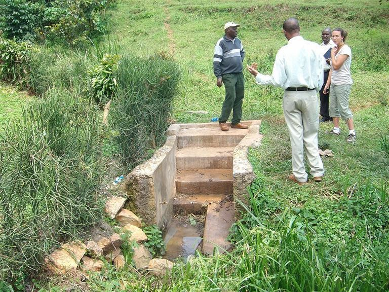 KINKIIZI WATER PROJECT - UGANDA - This was the original water source.