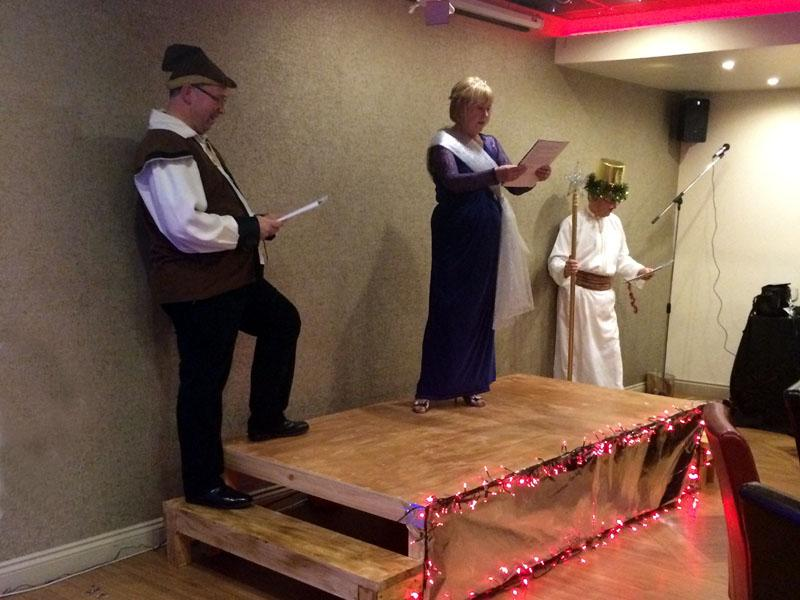 Christmas Party Panto - The Show goes on
