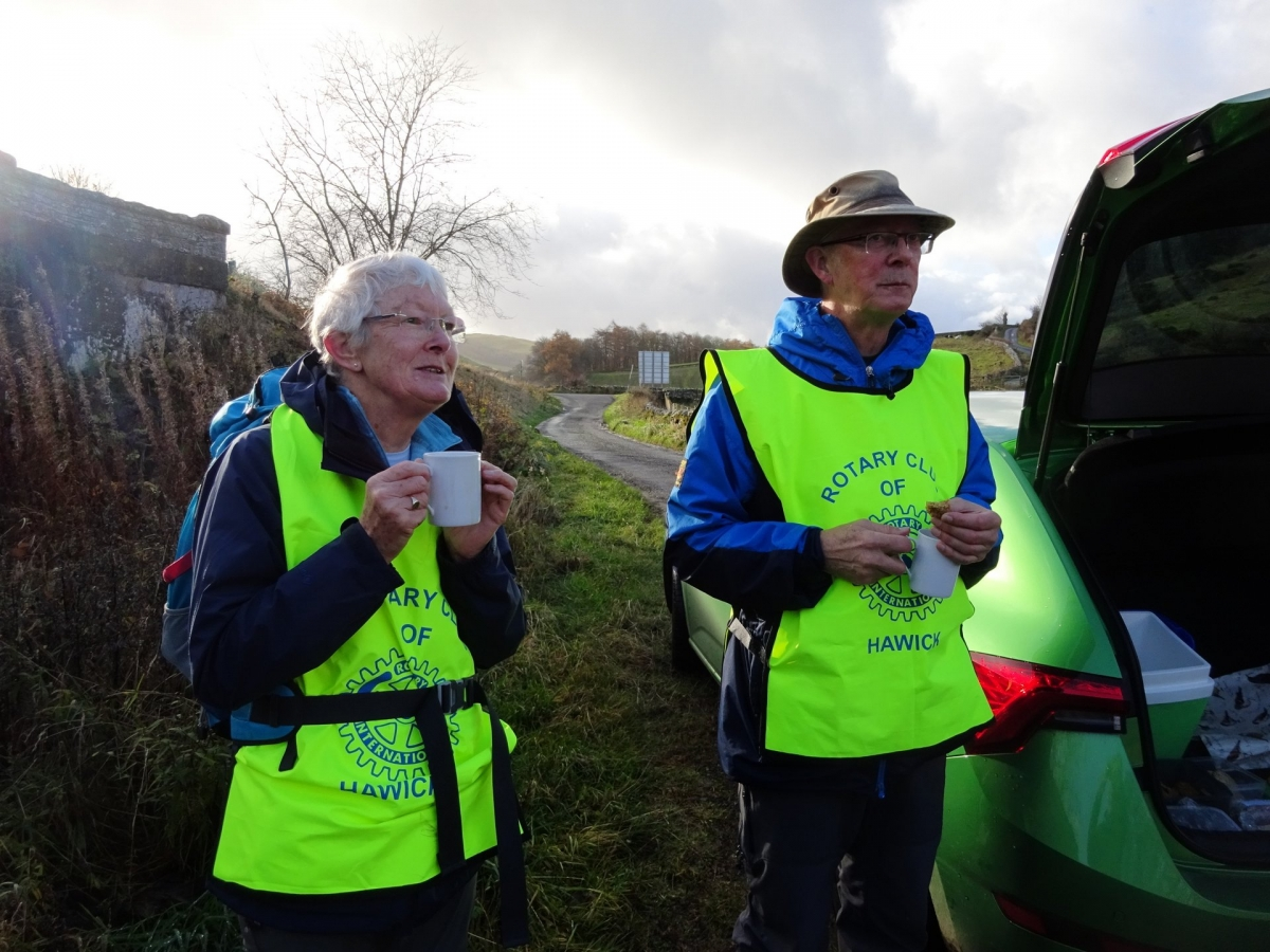 Seven Trigs Challenge - Safely Home! - At Branxholm at 11.30. Rendezvous for refreshments helpfully provided by Jane and Sandy Bannerman