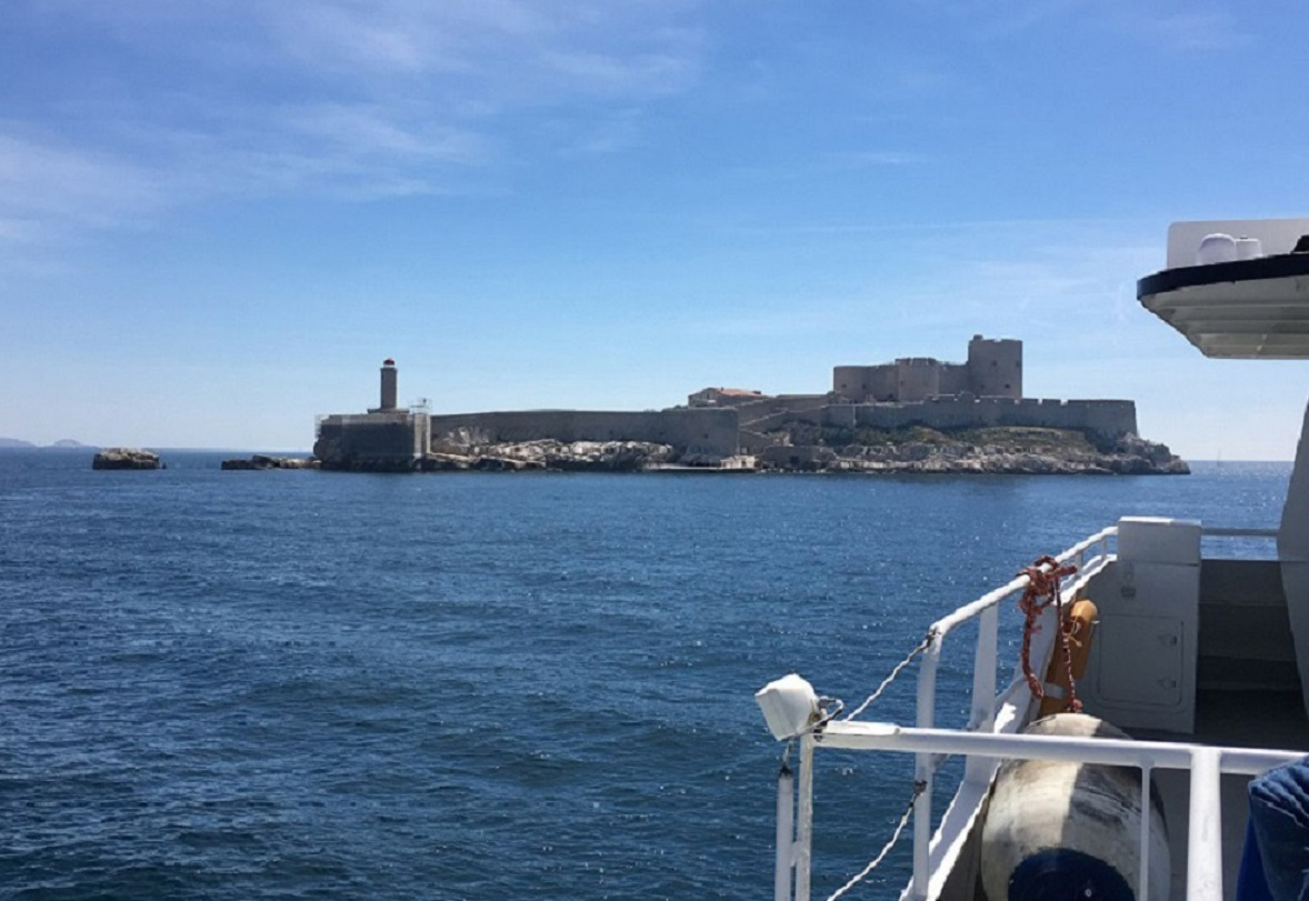 TuT International Visit 2019 - Island of If - a chateau and prison, where the Count of Monte Cristo