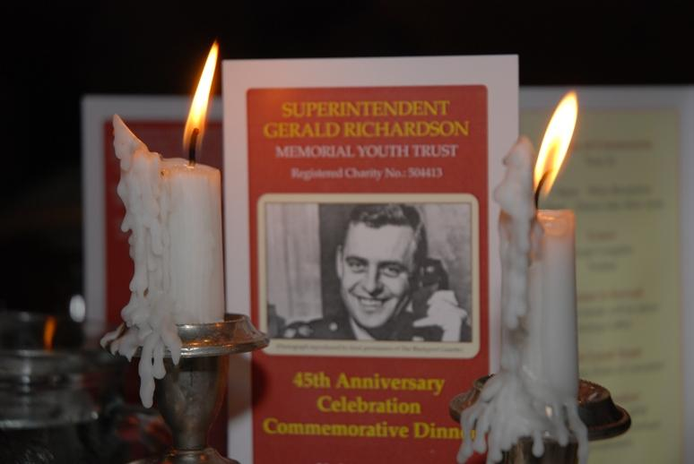 Gerry's Celebration Commemorative Dinner - Gerry's flame still burns brightly