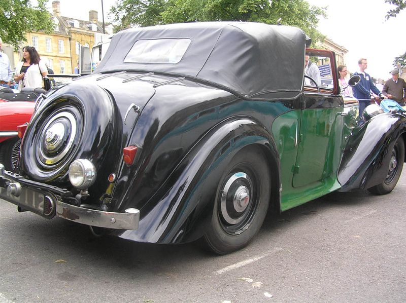 Chipping Norton Car Day - The Alvis - a true gentleman's car....