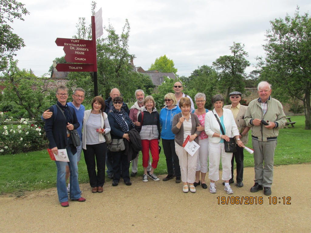 Visit from Odal Rotary Club, Norway - 10 The Berkeley Castle Group
