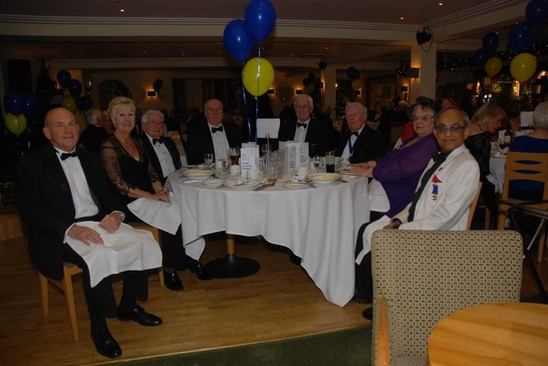 CHARTER DINNER 2015 - The Blackpool Palatine Rotary Club Table.
