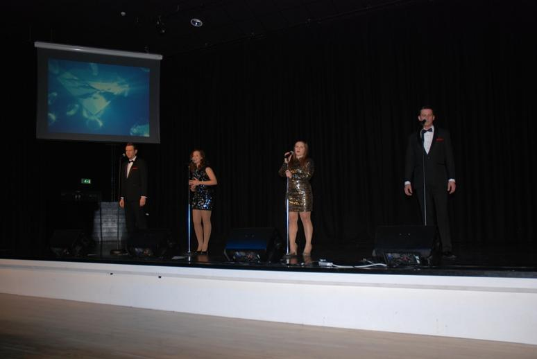 BOND LEGACY - Introducing BOND LEGACY. From left; Matt Andrews, Nikki Miller. Lois Charlton and Johnny O'Connor.