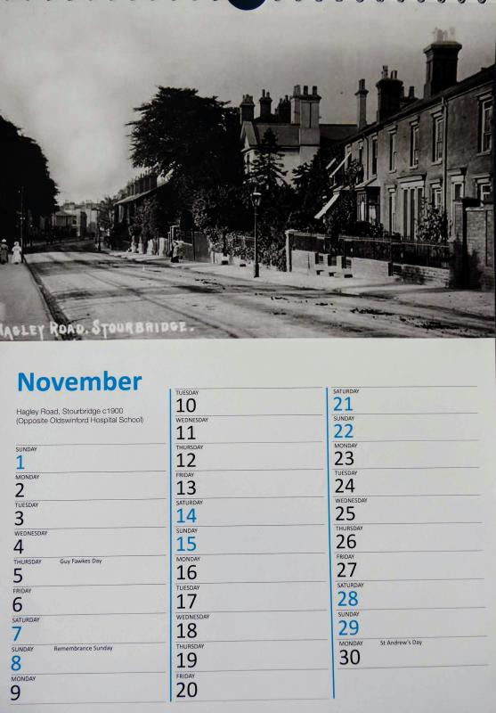 Get your 2020 Rotary Club of Stourbridge Calendar -