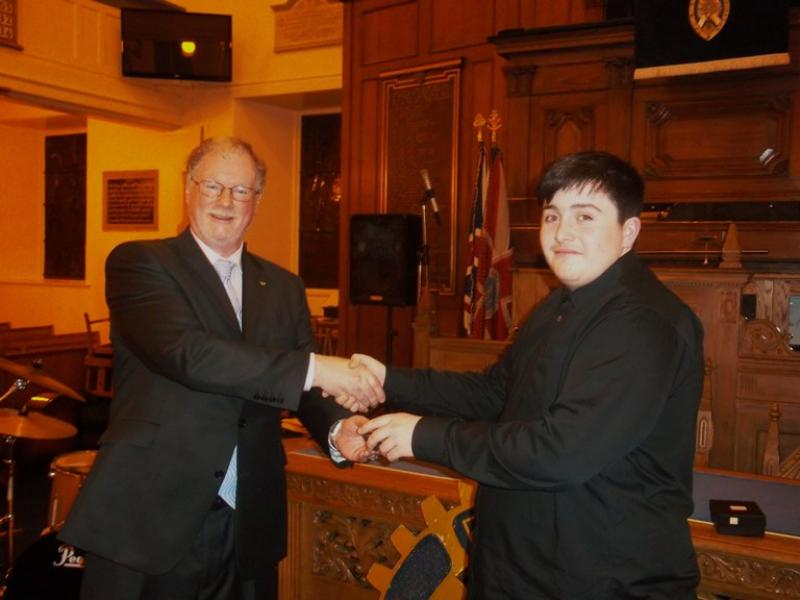Young Musician of the Year 2011 -12 - Instrumentalist Winner - Sam Leighton, Kilmarnock Academy
