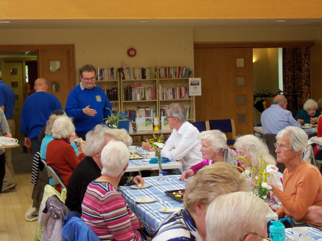 Senior Citizens Light Lunch & Afternoon Tea  -