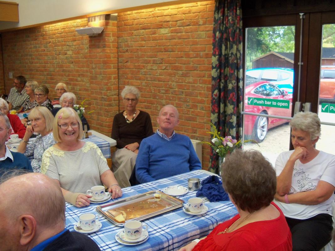 Senior Citizens Light Lunch & Afternoon Tea  - Who eat all the cakes?
