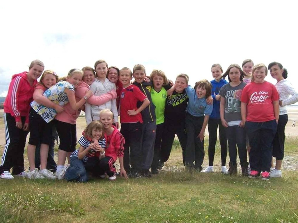Rotakids Sponsored Walk - The whole team.