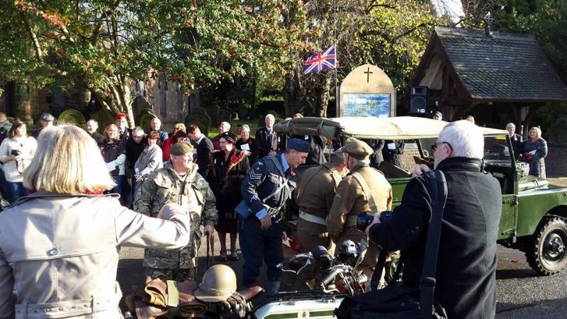 Remembrance Parade in Aldridge - 10378193 302587943274609 1563930661909416694 n