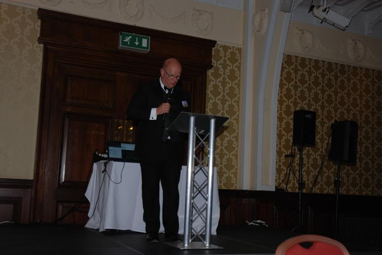 Gerry's Celebration Commemorative Dinner - Michael Barton gave an interesting, thoughtful and at times humorous address.