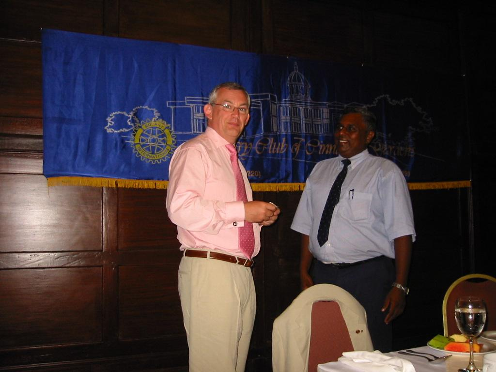 WE ARE A GLOBAL FAMILY - Visit to Sri Lanka to give aid to a Rotary supported orphanage