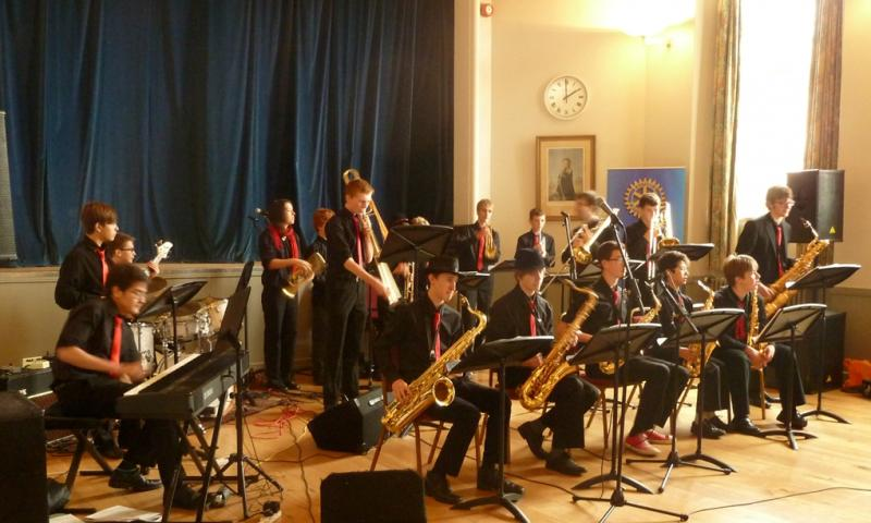 CHIPPY JAZZ AND MUSIC 2012 - This very polished band won the Music Festival Youth Jazz Band Challenge earlier in the year.