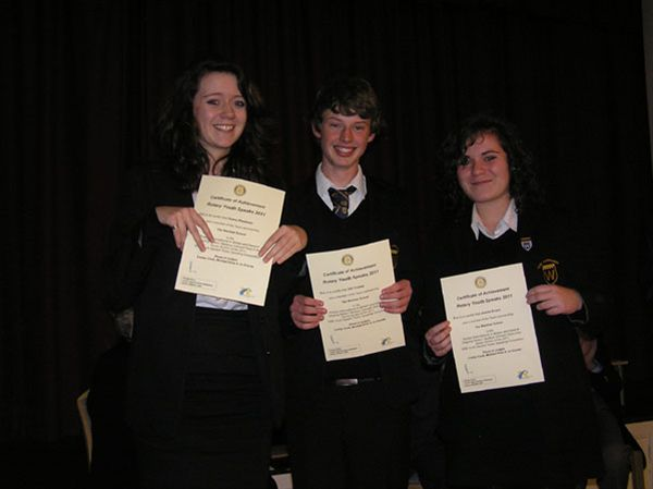 YOUTH SPEAKS 2010 - The Warriner School Senior Team: