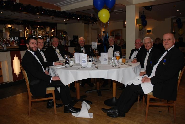 CHARTER DINNER 2015 - Jeff's personal guests and members of his 2004 - 2005 'Chain Gang'.