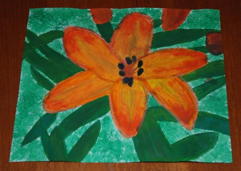 ROTARY YOUNG ARTIST 2015 -2016 - THE FAIDING LILY by Lucy Flynn