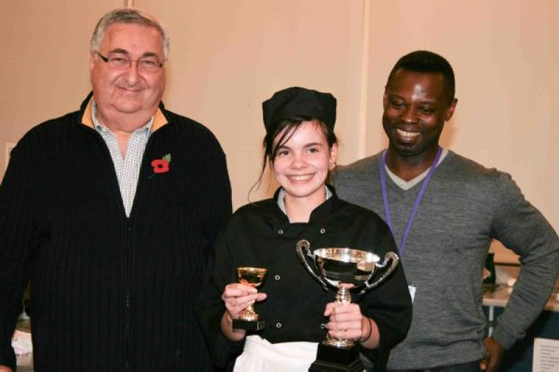 Young chef of the year, 8th November 2012 - Joanna Freeman, overall winner
