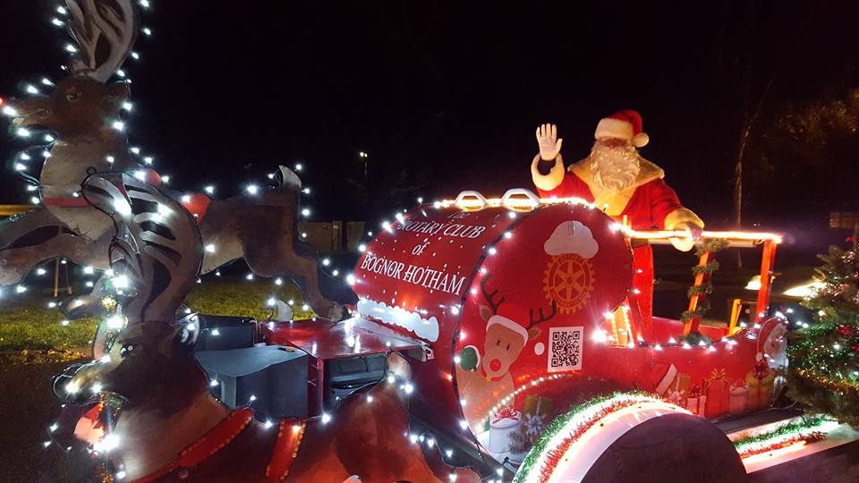 Christmas Float - Rotary Club of Bognor Hotham
