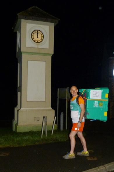 COLIN'S CHALLENGE - Latest - Bodmin to Helston 70km Start midnight St. Lawrence Clock Bodmin.
