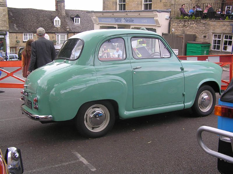 Chipping Norton Car Day - The Austin A35...a car for the common man