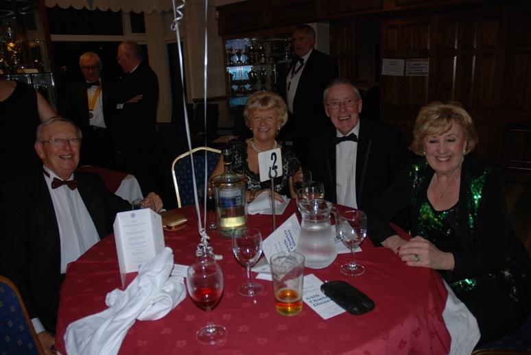 CHARTER DINNER 2016 - And more happy faces.