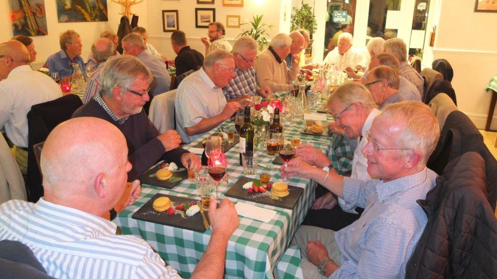 2015-16 Rotary Year - Superb evening with delicious cuisine organised by Rtn Roger Levick