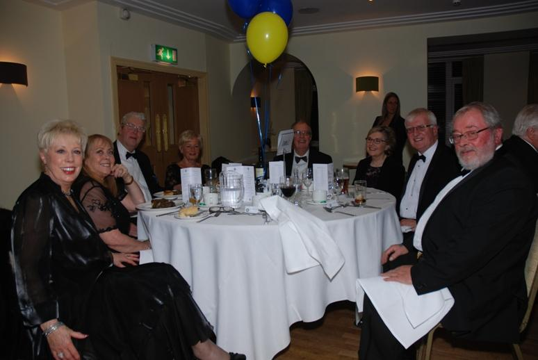 CHARTER DINNER 2015 - All smiles from Blackpool South members and friends