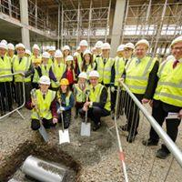 Visit to the new Wm. McIlvanney Campus, Sutherland Drive, Kilmarnock -