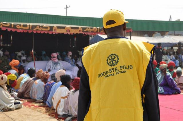 End Polio Now - Rotary is monitoring activity and engaging with immunisation ambassadors in the North.