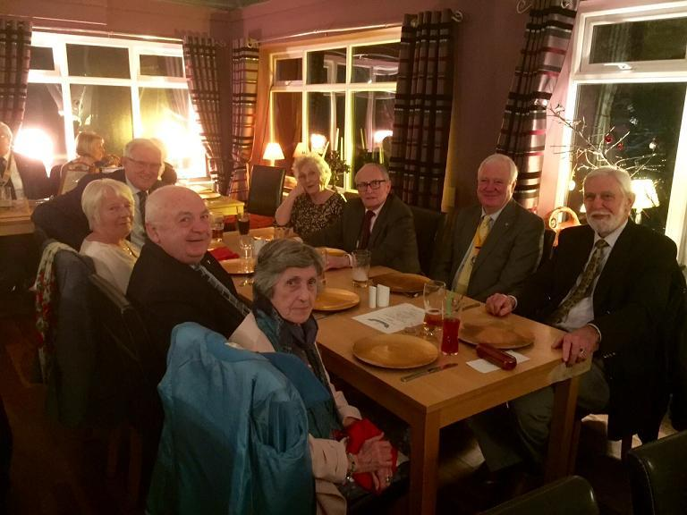 Club 25th Anniversary Meeting - Rob & Pat Blair host our guests from Seaburn, Sunderland and Washington