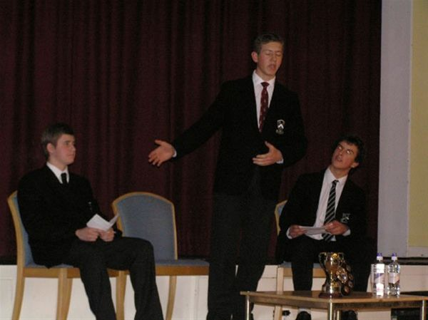 YOUTH SPEAKS 2010 - Bloxham School Senior Team.