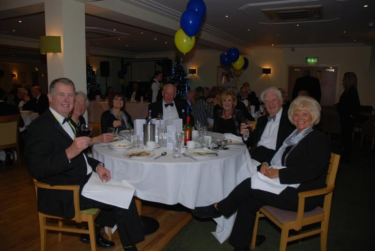CHARTER DINNER 2015 - Eric and Anne with some of their guests.